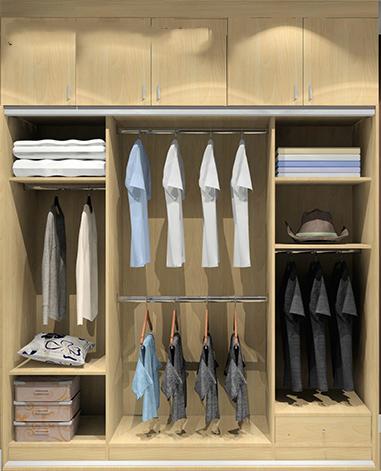 34款衣柜内部结构 衣柜设计案例