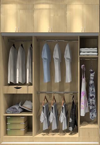34款衣柜内部结构 衣柜设计案例 福州便民网
