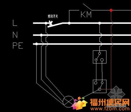 单联双控开关接线图(含原理和接线方法)