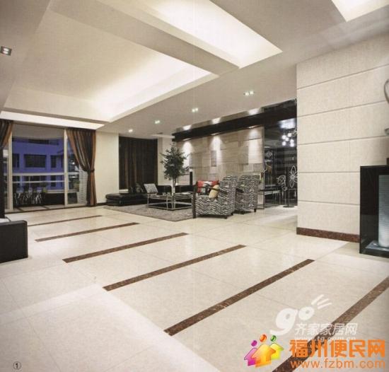 客厅地砖风格装修效果图大全欣赏