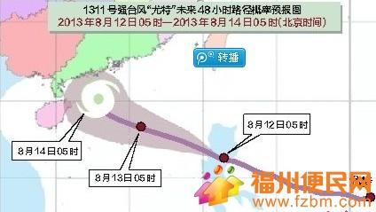 台风尤特终结高温天气 福州未来三天不超34
