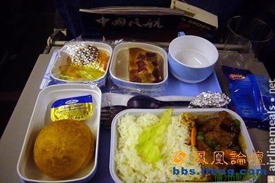 实拍中国10家航空公司飞机餐