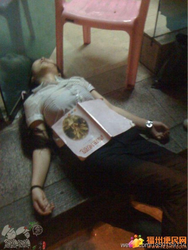 昨晚一湖南籍妙龄女子醉酒坐公交 瘫倒在51路